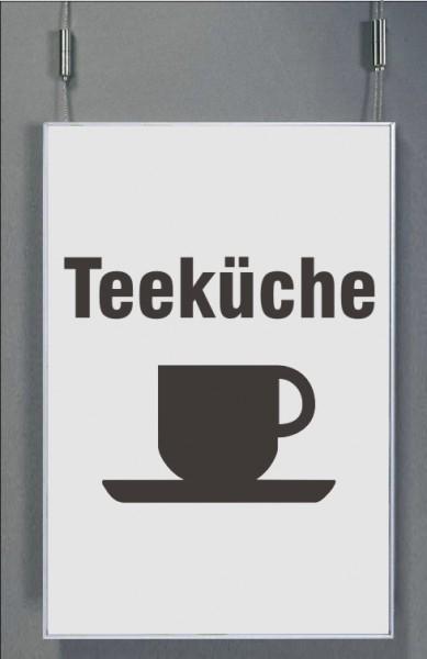 Deckenhänger | System Karlsruhe | DIN A4 quer